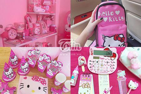 Loa mat truoc can phong mau hong Kitty cua 9x Da Nang - Anh 5