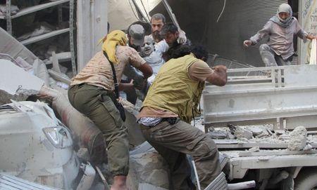 """Syria va """"co hoi vang"""" mong manh giai quyet xung dot - Anh 1"""