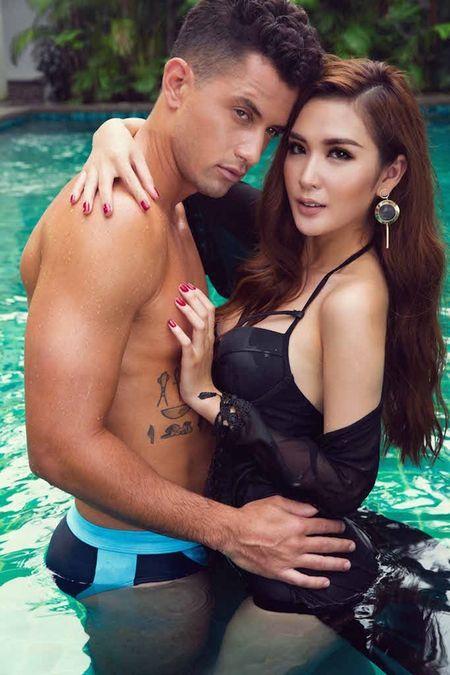 Ngoc Loan The Face dien bikini khieu khich ben Nam vuong the gioi - Anh 3