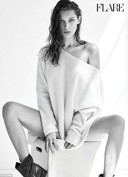 Bella Hadid ban nude tao bao khoe duong cong day me hoac - Anh 3