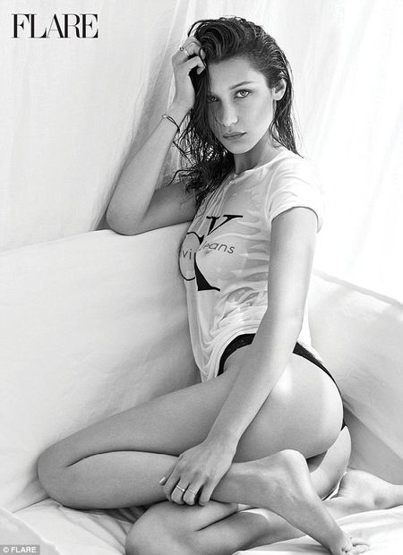Bella Hadid ban nude tao bao khoe duong cong day me hoac - Anh 5