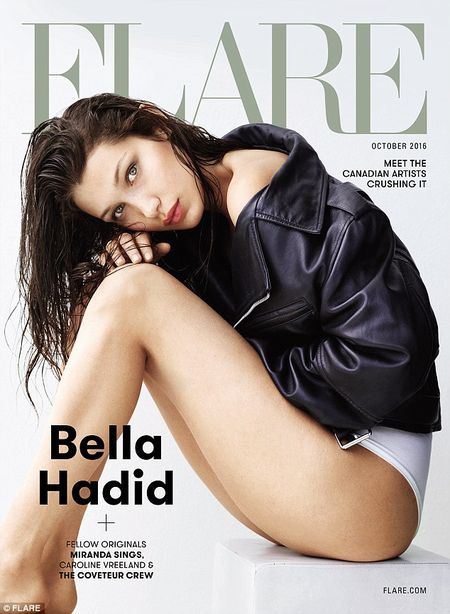 Bella Hadid ban nude tao bao khoe duong cong day me hoac - Anh 8