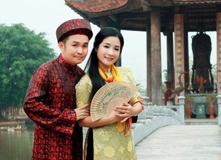 Thanh Thanh Hien bat mi ba vo dien ung y nhat cung Xuan Hinh - Anh 2