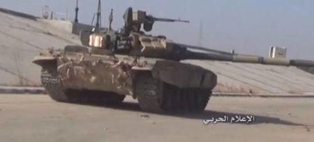 Quan doi Syria tiep tuc tan cong phia Nam Aleppo - Anh 1