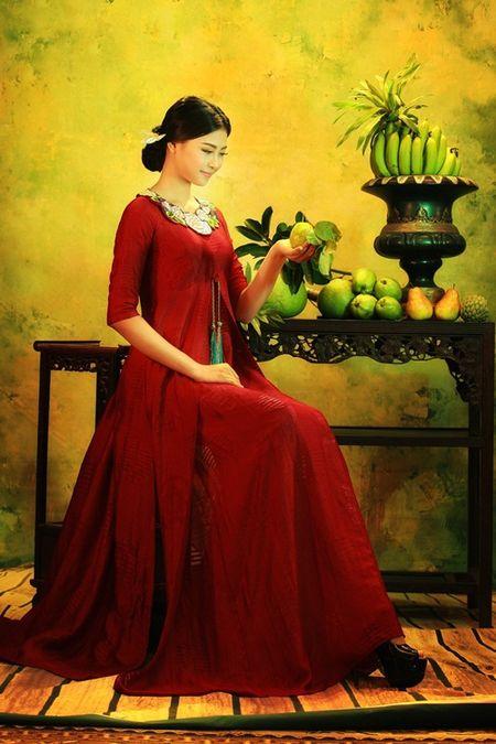 Nguoi dep bien Dao Thi Ha hoa thieu nu trong tranh - Anh 2