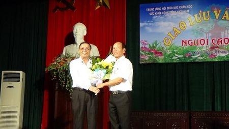 Xa An Khanh (Hoai Duc): Ruc ro co hoa ngay hoi van hoa the thao Nguoi Cao Tuoi - Anh 1