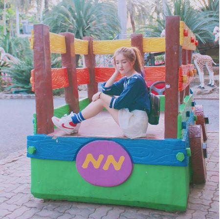 Hotgirl Sai Thanh bi nham la sao Han vi qua xinh xan, ngot ngao - Anh 10