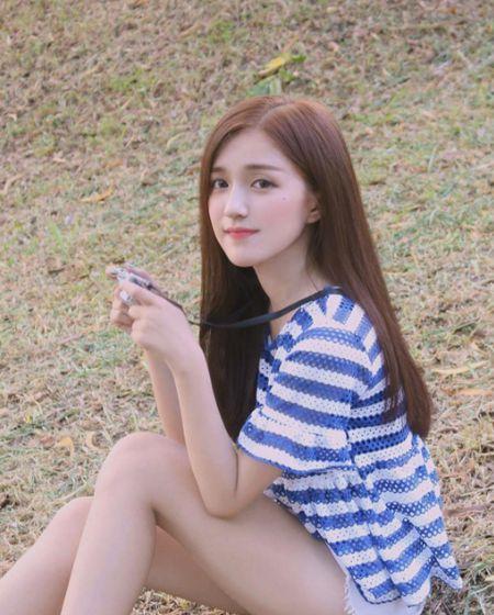 Hotgirl Sai Thanh bi nham la sao Han vi qua xinh xan, ngot ngao - Anh 6