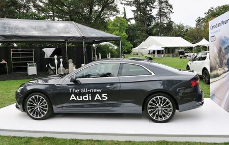 Anh thuc te Audi A5 Coupe 2017 hoan toan moi - Anh 1