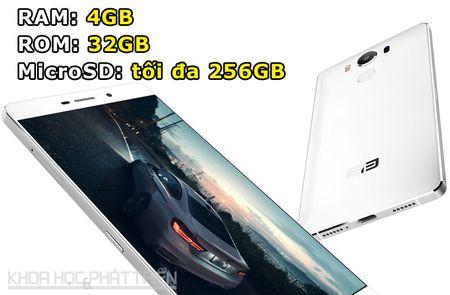 Smartphone vien man hinh sieu mong, RAM 4 GB, gia gan 5 trieu - Anh 2