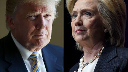 Donald Trump mong ba Clinton som binh phuc? - Anh 1