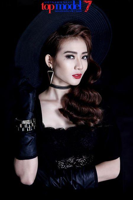 Dung chan tai Top Model, Kim Nha tung anh day phong cach va ca tinh - Anh 4