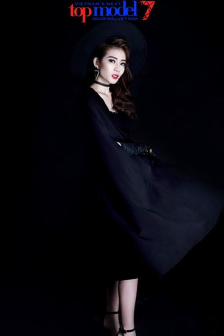 Dung chan tai Top Model, Kim Nha tung anh day phong cach va ca tinh - Anh 7