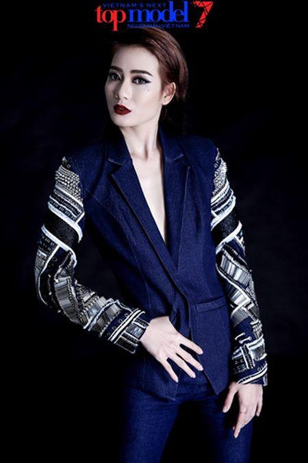 Dung chan tai Top Model, Kim Nha tung anh day phong cach va ca tinh - Anh 8