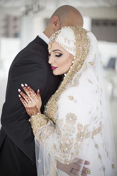 Me man khan trum dau Hijab tuyet dep cua co dau Hoi giao - Anh 1