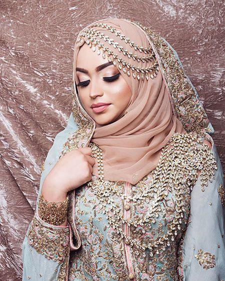 Me man khan trum dau Hijab tuyet dep cua co dau Hoi giao - Anh 5