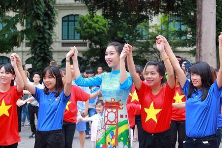 Dan Hoa hau cung hang ngan hoc sinh, sinh vien 'Nhay vi su tu te' - Anh 11
