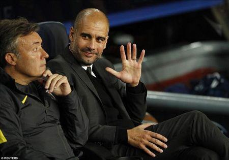 Luot 4 vong bang Champions League: Barca tang qua cho Pep Guardiola - Anh 2