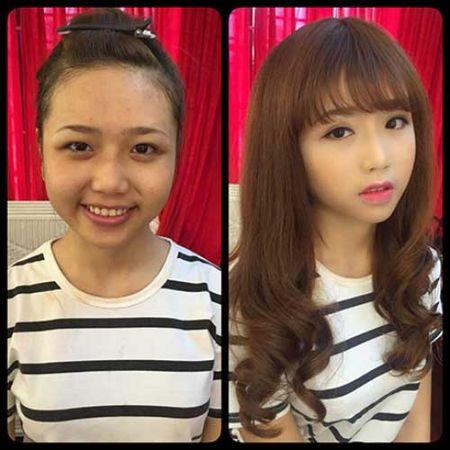 Suc manh cua make up khang dinh:Tren doi khong bao gio co gai xau! - Anh 12
