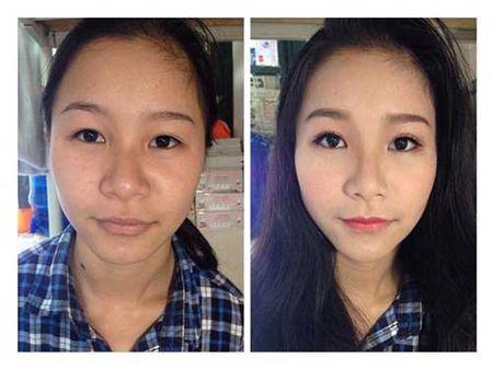 Suc manh cua make up khang dinh:Tren doi khong bao gio co gai xau! - Anh 13
