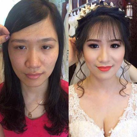 Suc manh cua make up khang dinh:Tren doi khong bao gio co gai xau! - Anh 4