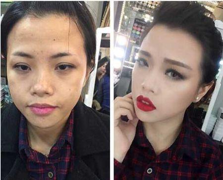 Suc manh cua make up khang dinh:Tren doi khong bao gio co gai xau! - Anh 5