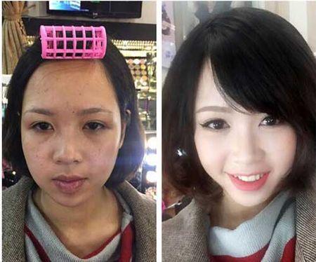 Suc manh cua make up khang dinh:Tren doi khong bao gio co gai xau! - Anh 6