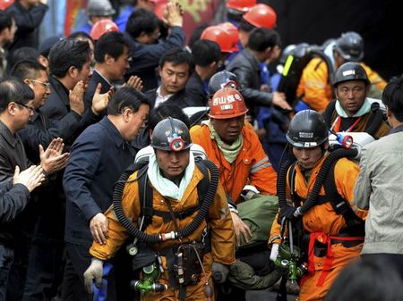 Trung Quoc: No mo than, 15 nguoi chet va 18 nguoi mat tich - Anh 3
