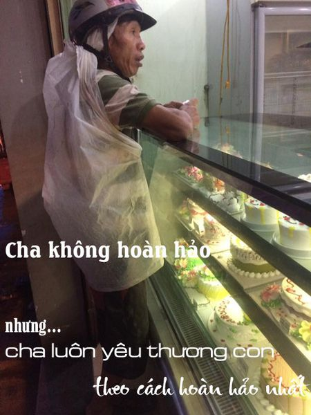 Nguoi cha ngheo mua banh sinh nhat cho con va hanh dong bat ngo cua co gai la - Anh 2