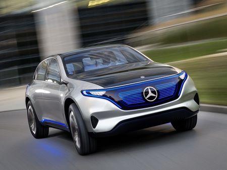 Chot thoi diem Mercedes ra mat crossover chay dien Generation EQ - Anh 1
