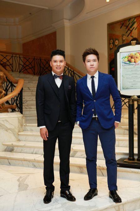 "A hau Huyen My toa sang tai Show thoi trang ""Man and Blue"" Phan Nguyen - Anh 4"