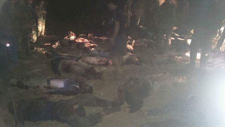 Chien su Syria: Lot o phuc kich, 33 tay sung thanh chien nop mang - Anh 2