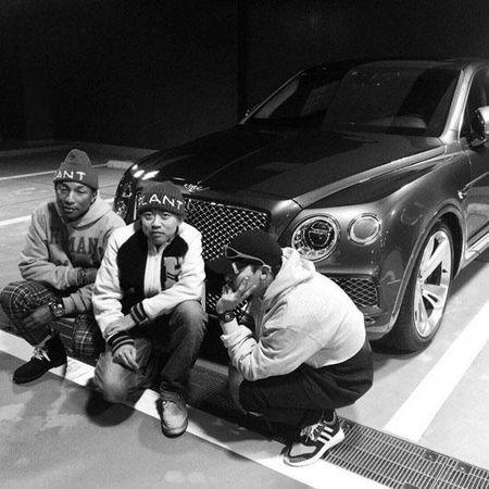G-Dragon va T.O.P (Big Bang) hop tac voi ong hoang hip-hop My Pharrell Williams - Anh 4