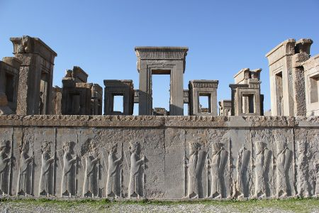 Persepolis, Iran: Thanh co Ba Tu - Anh 1