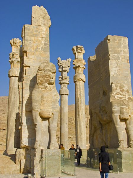 Persepolis, Iran: Thanh co Ba Tu - Anh 3