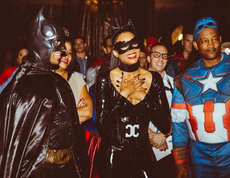 Sao Hollywood trong nhung 'bo canh' Halloween quyen ru - Anh 6