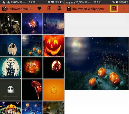 Cach hoa trang smartphone kinh di mua Halloween - Anh 3