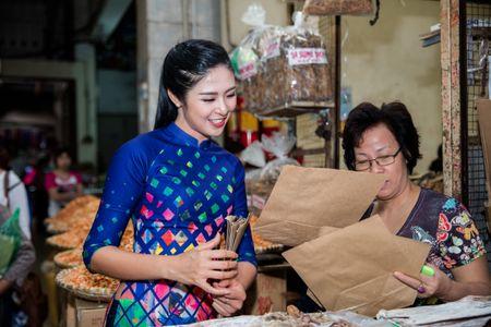 Hoa hau, a hau Viet Nam dien ao dai nhay flashmob - Anh 7