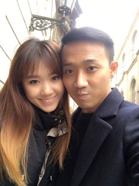 Tran Thanh - Hari Won tinh cam o chau Au - Anh 1