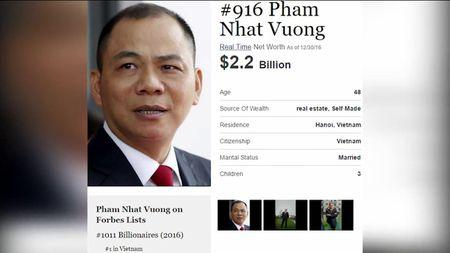 Het nam 2016, Viet Nam van chi co 1 ty phu USD - Anh 1
