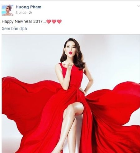 My nhan Viet dong loat gui loi chuc mung nam moi 2017 - Anh 1