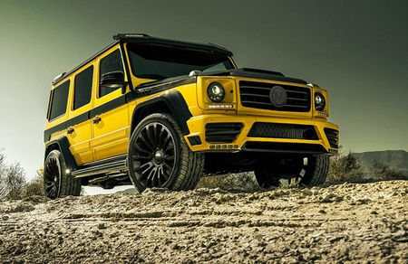Mercedes-Benz G-Class dam chat choi qua ban do Mansory - Anh 1