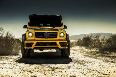 Mercedes-Benz G-Class dam chat choi qua ban do Mansory - Anh 2