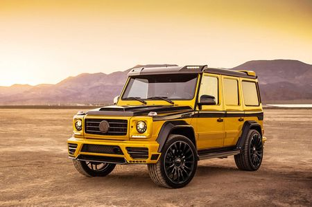 Mercedes-Benz G-Class dam chat choi qua ban do Mansory - Anh 3