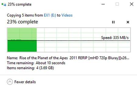 Danh gia SSD Plextor EX1: Nhanh, gon, dat va chua pho bien - Anh 10
