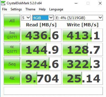 Danh gia SSD Plextor EX1: Nhanh, gon, dat va chua pho bien - Anh 8