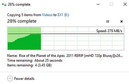Danh gia SSD Plextor EX1: Nhanh, gon, dat va chua pho bien - Anh 9