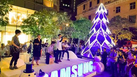 Hang nghin nguoi trai nghiem cong nghe moi cua Samsung - Anh 2
