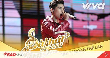 Chang hot boy 16 tuoi Doan The Lan lai khien ca san khau Bai hat hay nhat nhu 'no tung' voi hit moi qua 'dinh' - Anh 1