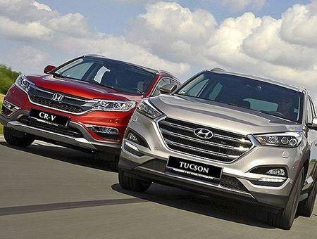 Mua xe chay Tet, chon Hyundai Tucson hay Honda CR-V? - Anh 1